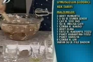 melisa çaylı kek tarifi