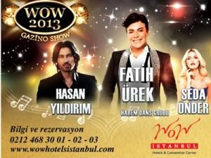 wow hotel yilbasi programi 2013