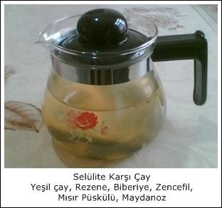 Selülite Karşı Çay