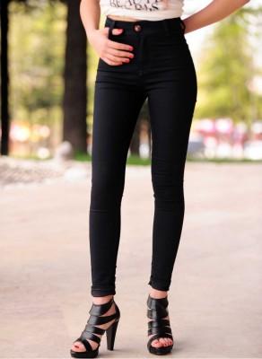 kısa boylular için yüksek bel pantolon
