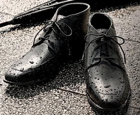 ayakkabıyı su geçirmez yapmak