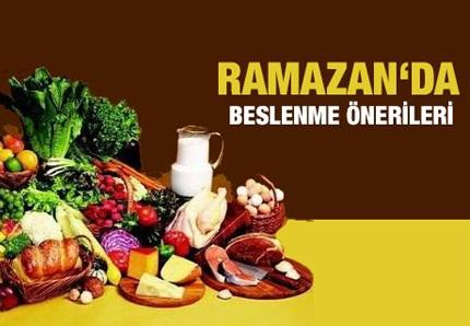 ramazan beslenme